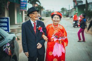 đám cưới kim cương kỷ niệm 60 năm ngày cưới