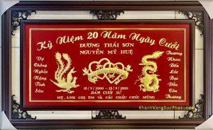 quà tặng kỷ niệm 20 năm ngày cưới đám cưới sứ