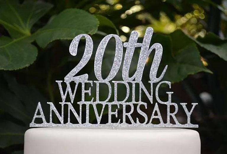 kỷ niệm 20 năm ngày cưới