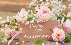 kỷ niệm 30 năm ngày cưới (Đám cưới ngọc trai)