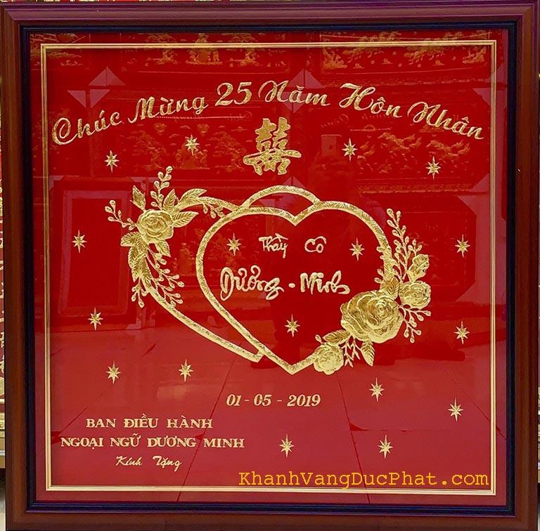 quà tặng đám cưới bạc ý nghĩa
